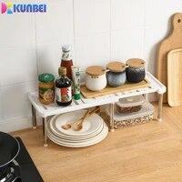 kunbei multifunctional retractable shoe rack stainless steel rack cabinet dish rack seasoning rack kitchenware storage rrack