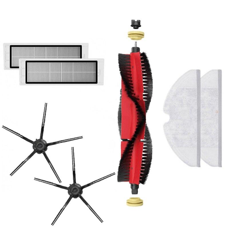 7 Uds Robot aspirador filtros HEPA accesorios de cepillo principal para Xiaomi Roborock S4 S5 MAX Robot partes