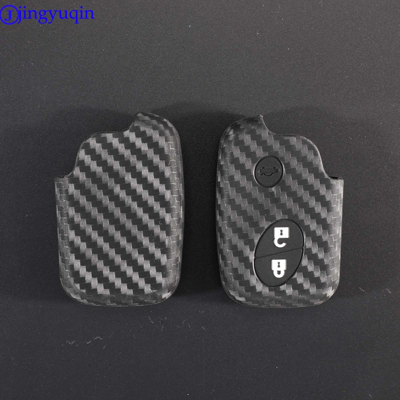 Funda de silicona de fibra de carbono jingyuqin para Lexus CT200h ES...