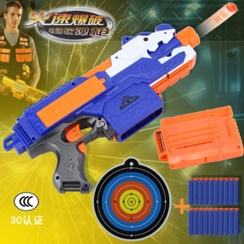 Pistola Nerf de juguete para dardos Nerf balas de cabeza hueca suave 7,2 cm recarga de balas de dardos de juguete balas de espuma segura para niños Nerf Juguetes
