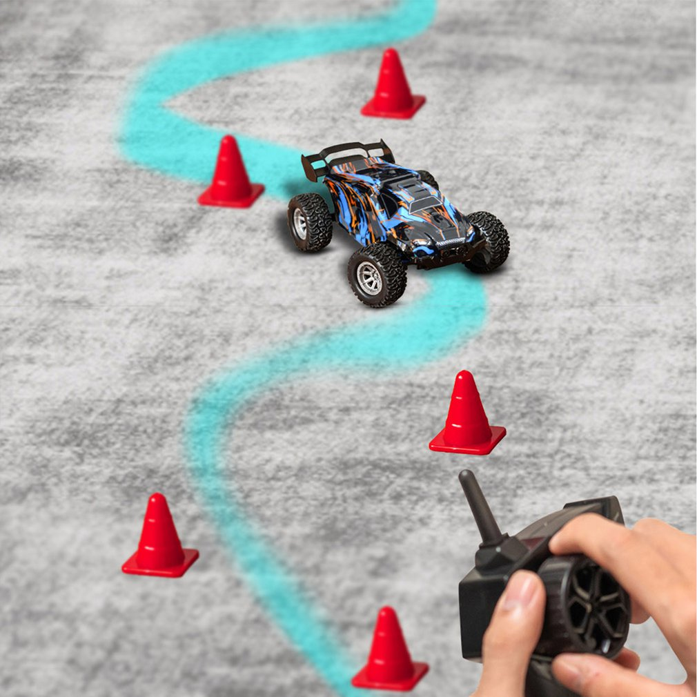 1:32 New Electric RC Remote Control Car Mini High Speed Car 20km/h Drift Professional Racing Model Electric Toy for Boys Kids enlarge