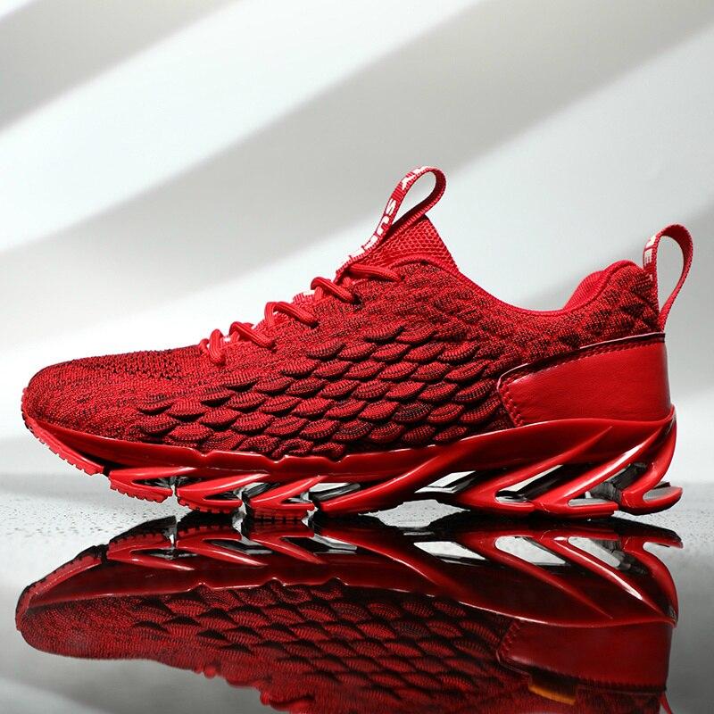 Zapatillas Deportivas Transpirables Para Hombre y Mujer de Zapatos Informales Con Cuchilla Para Deportes Al Aire Libre y Gimnasio