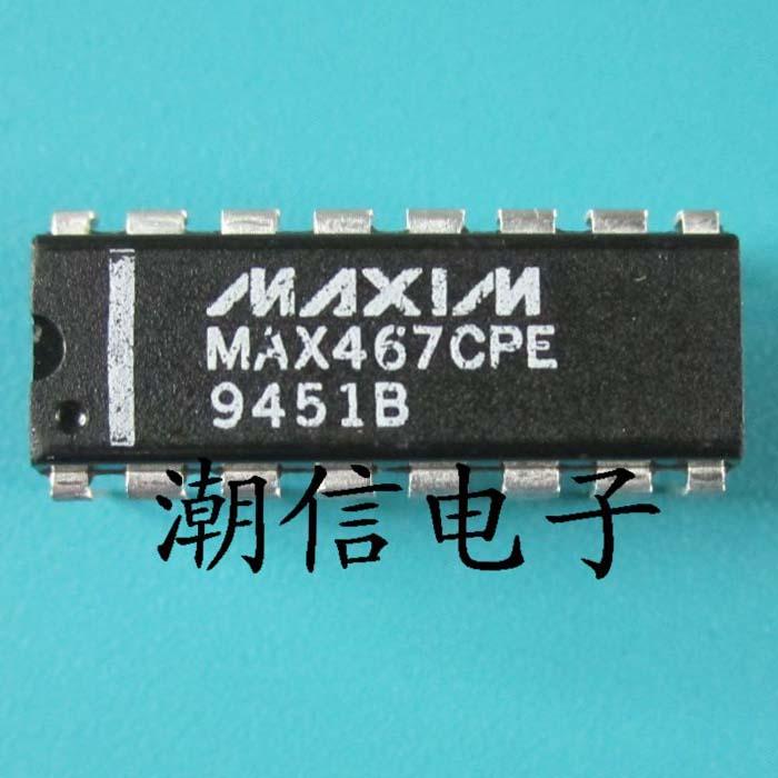 10cps MAX467CPE DIP-16