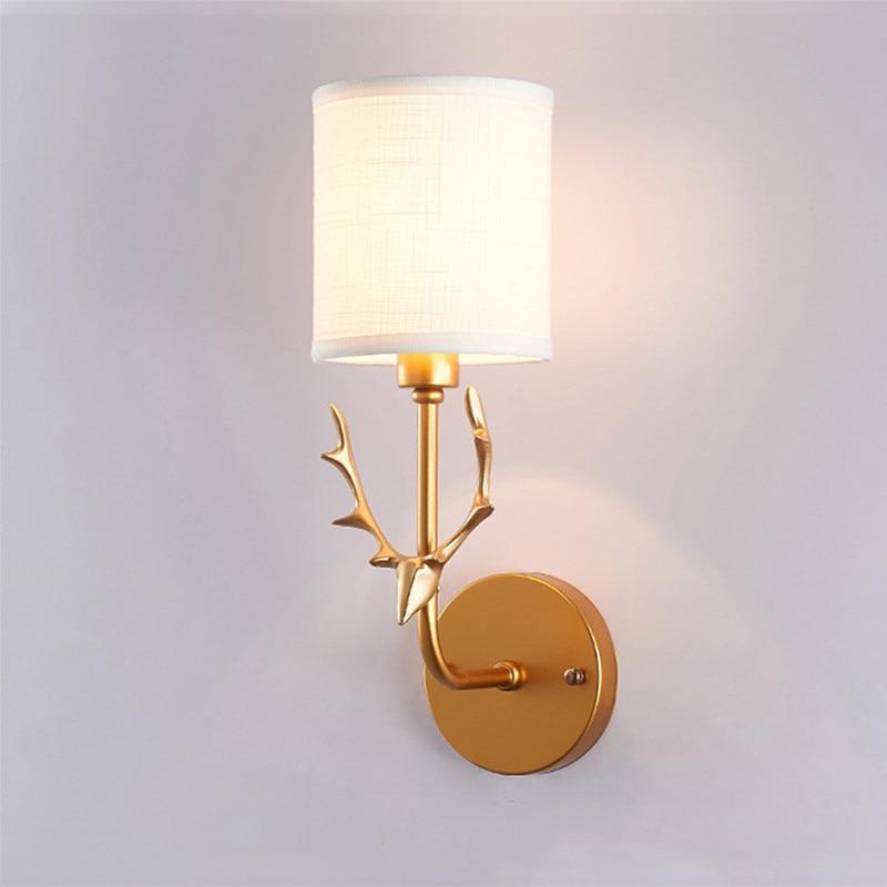 Antks-مصباح جداري led مع جانب سرير الأطفال ، مصباح داخلي ، ديكور فني ، إضاءة داخلية