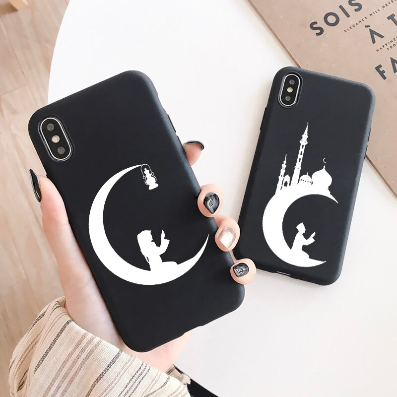 AliExpress - Moon Temple Muslim mosque Phone Case For iphone X XR XS Max 11 12 Pro max for iPhone 6s 7 8 Plus SE 2020 Soft Silicone cover