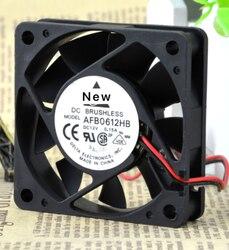 Para delta electronics afb0612hb-r00 servidor ventilador de refrigeração dc 12 v 0.15a 60x60x15mm 3-wire
