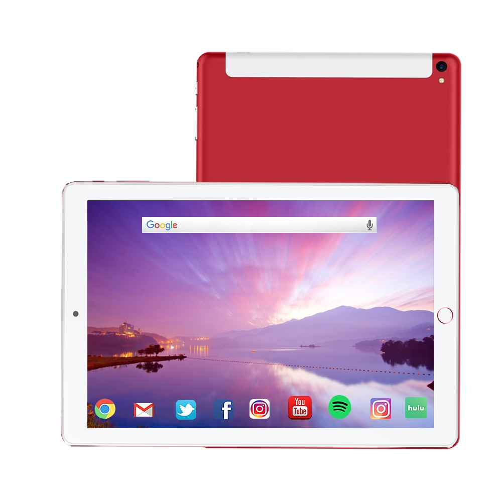 10 Inch Android Tablet Pc 6G+128GB 10 Core 2020 Original Powerful Android  IPS Dual SIM 4G Phone Call Tab Phone Pc Tablets