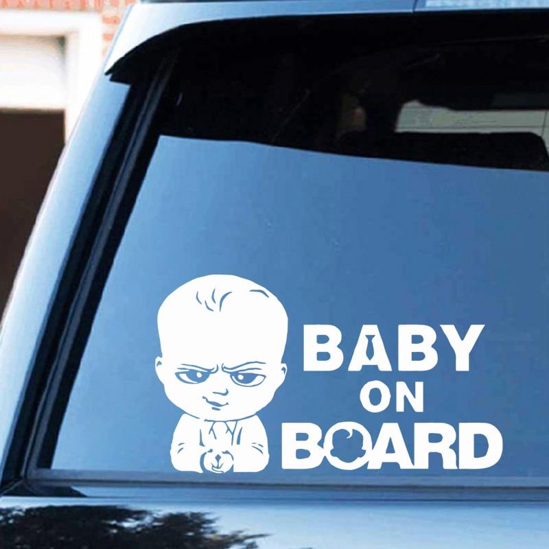 Pegatina para coche, pegatinas para bebé a bordo, calcomanía divertida para coche Ussr, adhesivo divertido para coche, decoración para el cuerpo de las ventanas