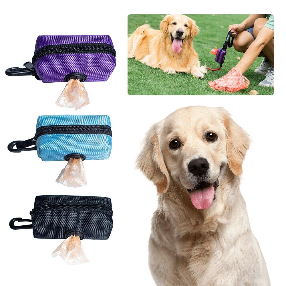 Dispensador de Bolsa para popó para mascotas, bolsa portátil para recoger caca...