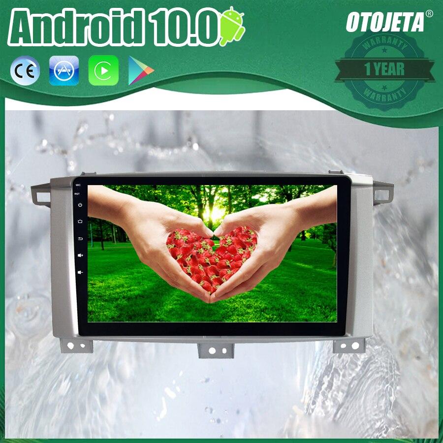 Reproductor de Radio para coche con pantalla oojeta Android 10 2.5D para Toyota LANDCRUISER 100 9 pulgadas Multimedia estéreo para coche GPS Navi tape grabador