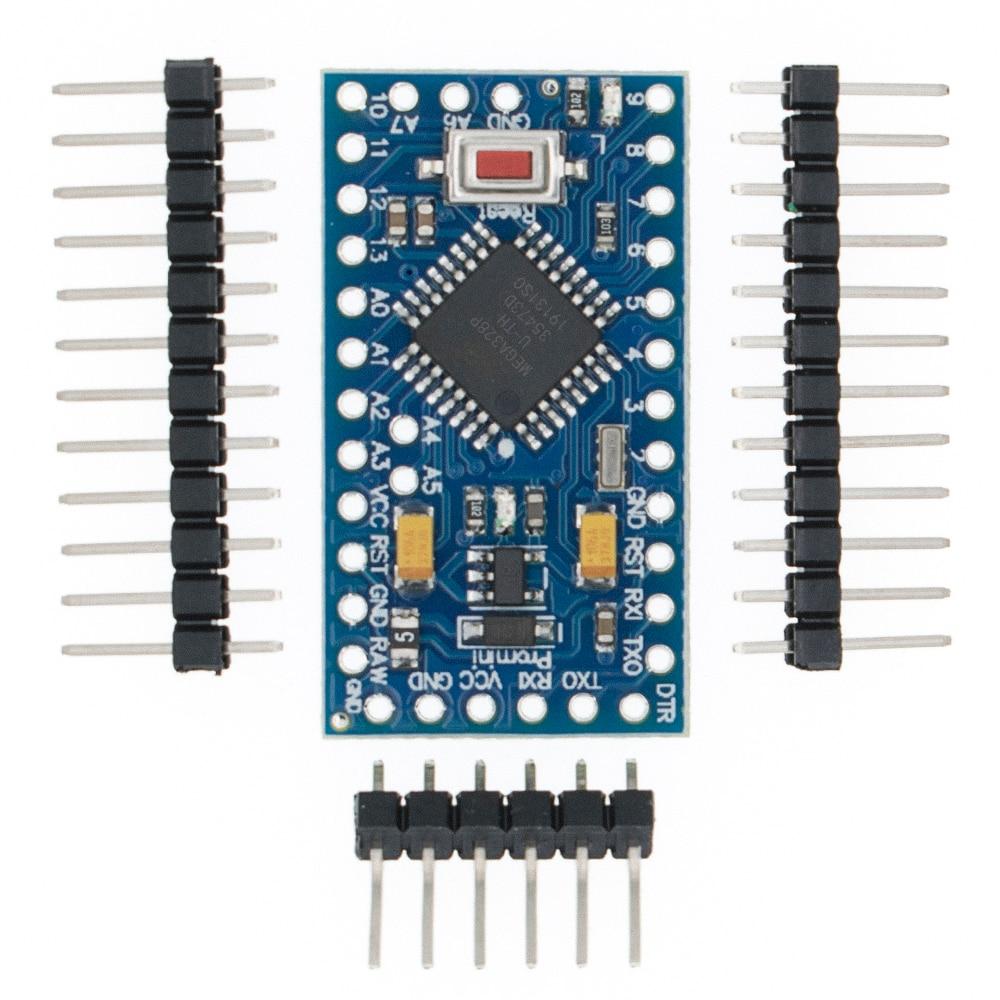 TENSTAR ROBOT 20 piezas Pro Mini 328 Mini 3,3 V 8 M ATMEGA328 3,3 V/8MHz, 5V/16MHz para arduino