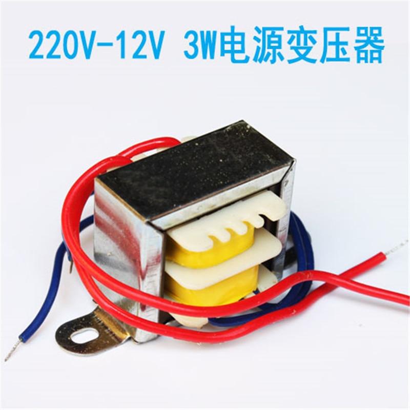 Power transformer 3W220V12V electronic DIY training transformer for LM317 production kit