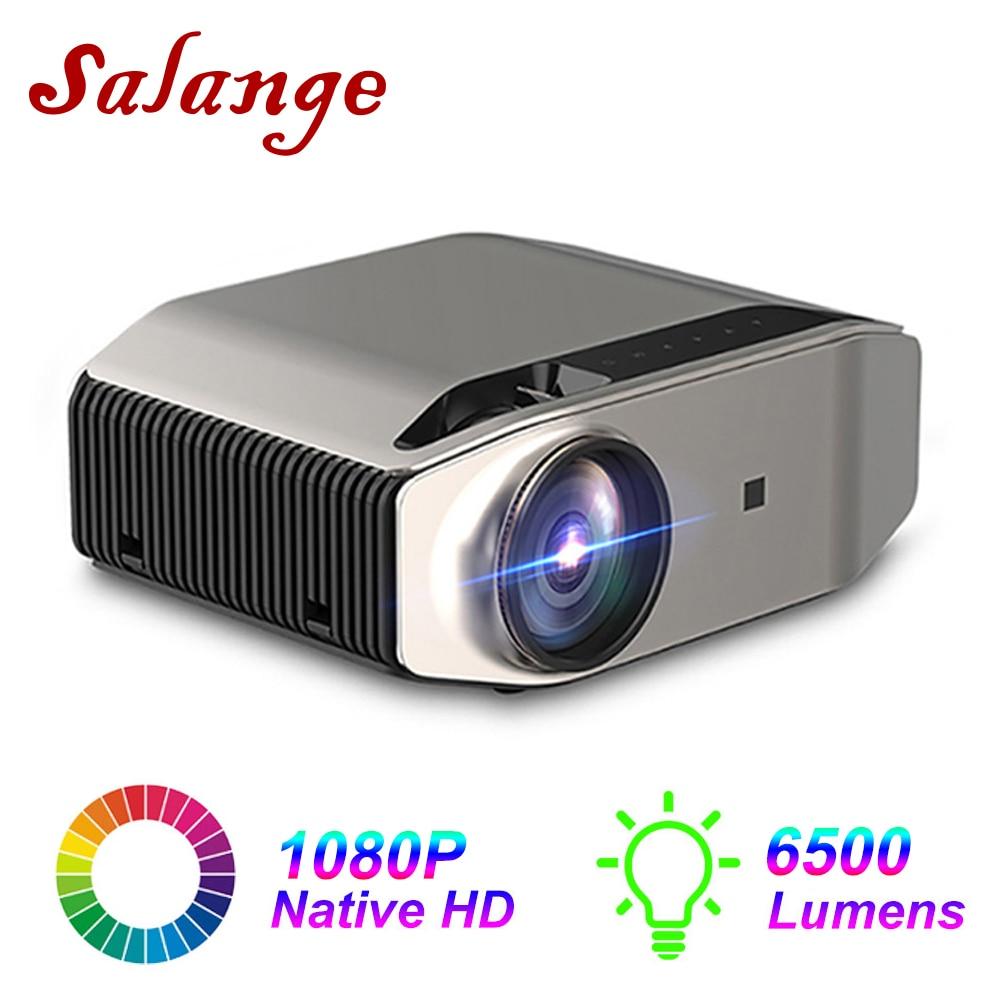 Salange Volle HD 1080p Projektor YG620, native 1920x1080P YG621 WiFi Multi-Bildschirm 3D Video Beamer LED Proyector Heimkino