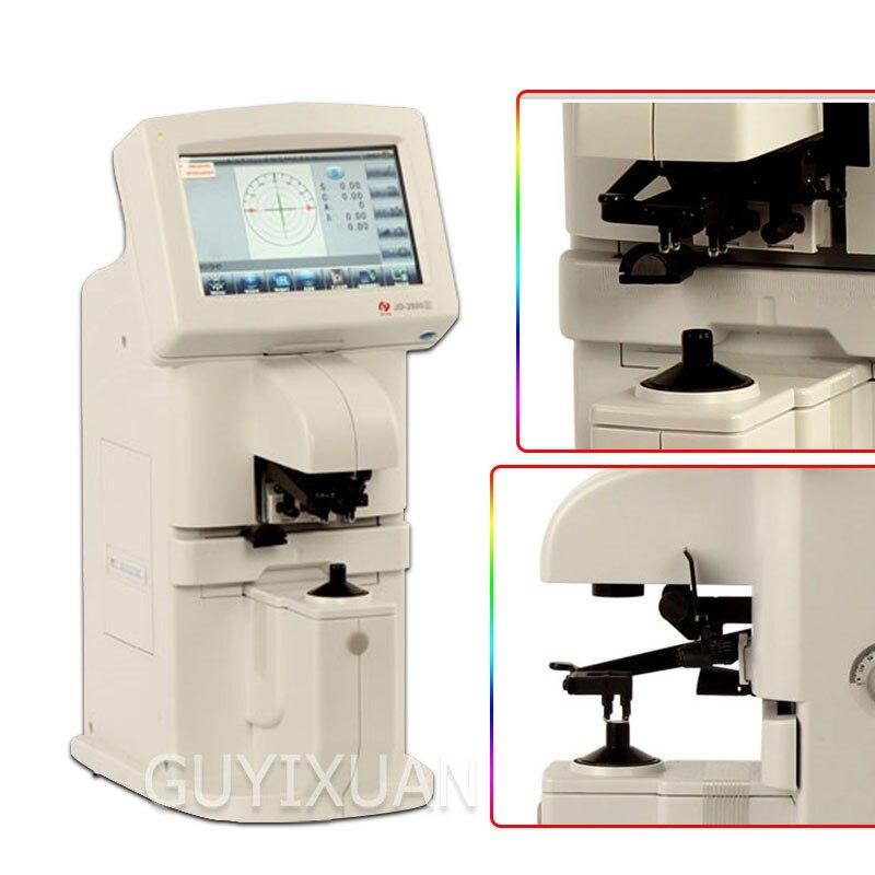 Medidor focal computarizado completamente automático, medidor de enfoque táctil inteligente, lente oftálmica, optometría, equipo de tienda óptico