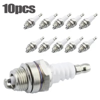 10pcs spark plug l7t for stihl hedge trimmer lawnmover blower chainsaw stihl l7t spark plug two stroke chain saw accessories