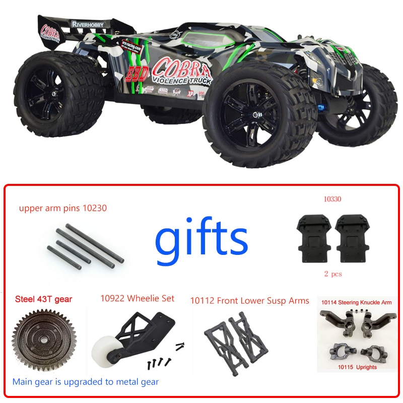 Vrx Racing RH818 KIT Cobra 1/8 Scale 4WD Electric RC Car,Without Electronics, Included Car shell,Remote control car
