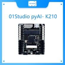 01Studio pyAI- K210 Core Entwicklung Demo Board AI Industrie Intelligenz Maschine Vision Maix Tiefen Lernens MicroPython Pyboard