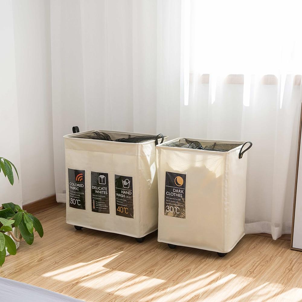 سلة الغسيل القابلة للطي ، سلة الغسيل المقاومة للماء متعددة الوظائف ، تخزين الملابس المتسخة