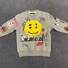 Kanye CPFM.XYZ W.W.C.D. Sweat à capuche pour homme femmes décontracté haute qualité 3D sweats hommes CPFM.XYZ à capuche