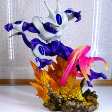 Dragon Ball Super héros cohéa PVC figurines jouets Anime Dragon Ball Z refroidisseur Diorama 250mm Figurine jouet DBZ