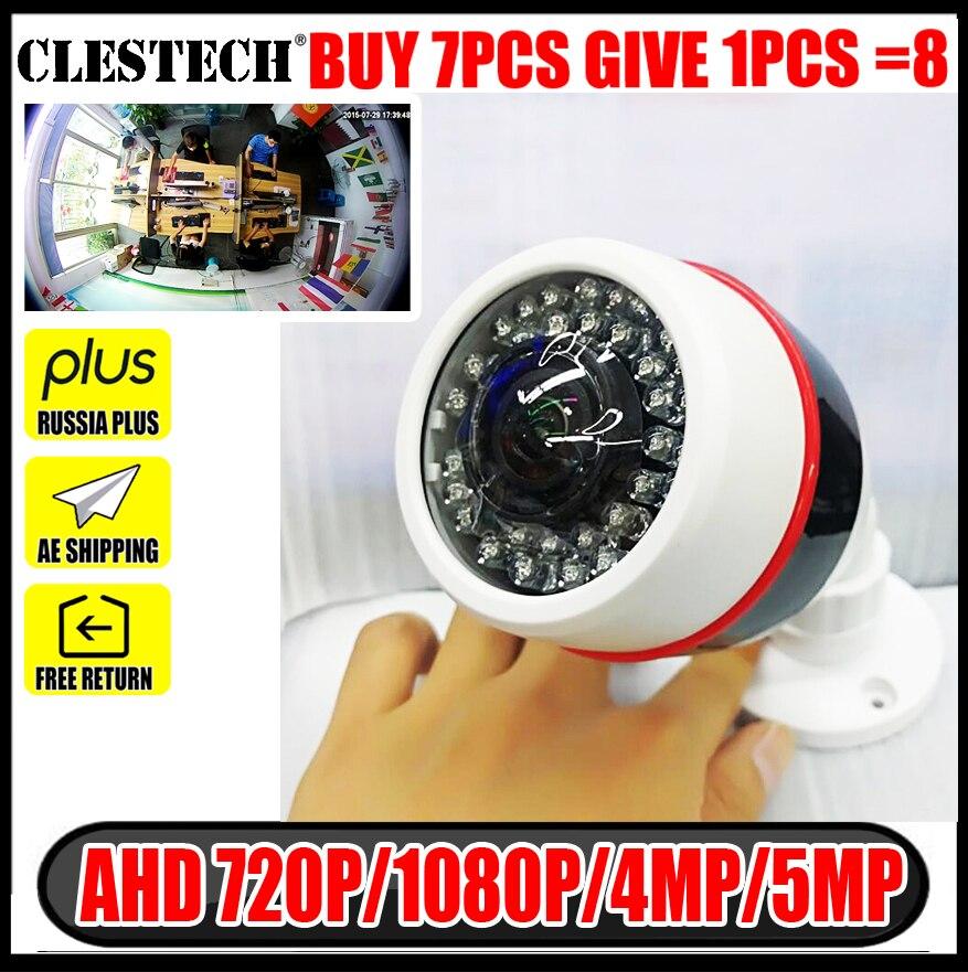 Камера видеонаблюдения IMX326 HD 5 Мп/4 МП, 1080P, рыбий глаз, широкоугольный угол обзора 1,7 мм, водонепроницаемая, для улицы