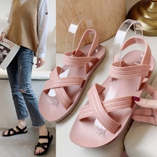 New style sandals and slippers, women's summer sandals,outdoor wear students,all-match outdoor bea
