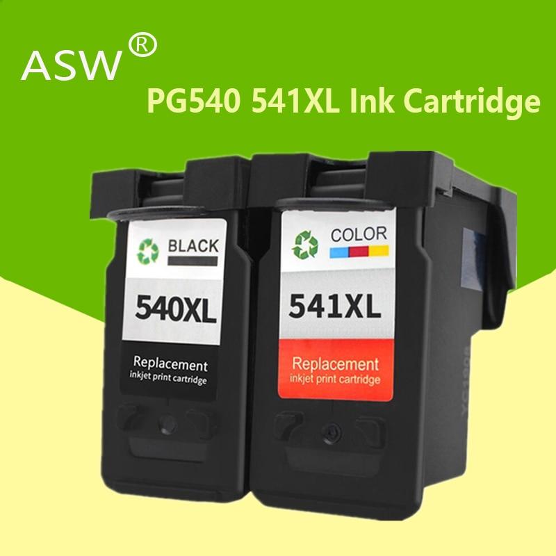Cartucho de repuesto ASW PG440 CL441 para Cartucho de tinta Canon PG 440 CL 441 440XL para Pixma MG4280 MG4240 MX438 MX518 MX378