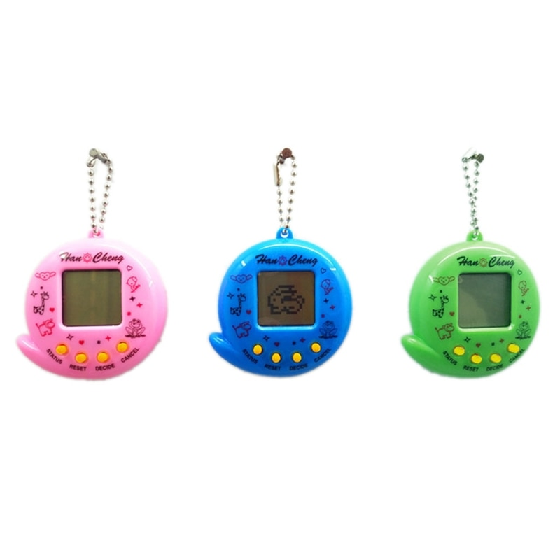 New 90S Nostalgic 168 Pets in 1 Virtual Cyber Pet Toy Electronic Pet