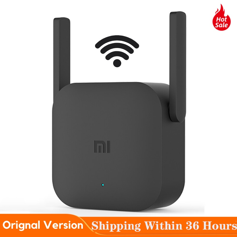original xiaomi pro 300m 2 4g wifi amplifier with 2 antenna Xiaomi Mijia WiFi Repeater Pro 300M Mi Amplifier Network Expander Router Power Extender Roteador 2 Antenna for Router Wi-Fi
