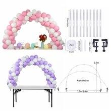 Düğün balon kemer balon tutucu sütun standı DIY balon çocuklar için doğum günü düğün parti dekorasyon balonu zincir aksesuarı