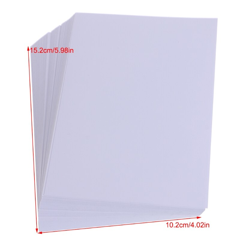 2021 New 100 Sheets Glossy 4R 4x6 Photo Paper 200gsm High Quality For Inkjet Printers Children's Toys Practice Pictures 2021 hot sale 100 sheets glossy 4r 4x6 photo paper 200gsm high quality for inkjet printers