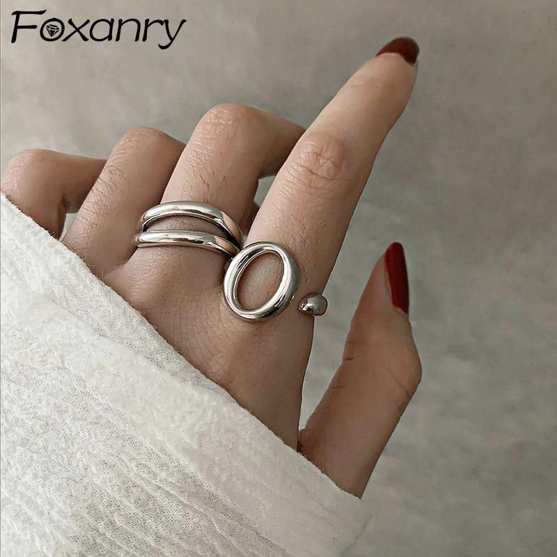 Женское-Винтажное-кольцо-foxanry-кольцо-из-стерлингового-серебра-925-пробы-с-геометрическим-узором-вечерние-ювелирные-изделия-на-день-рождени