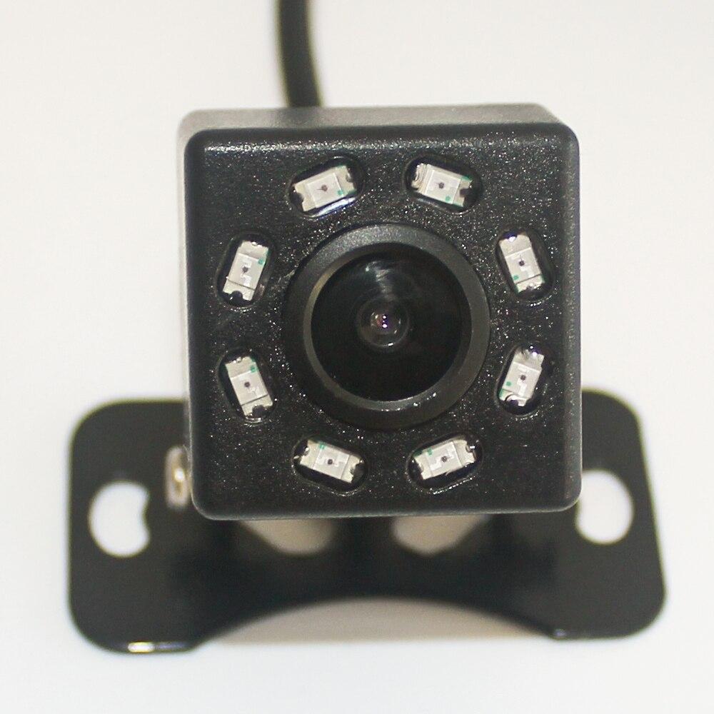8-Lamp infrared small square camera, reversing camera, CMOS parking rear camera, universal reversing visual camera health central reversing costochondritis