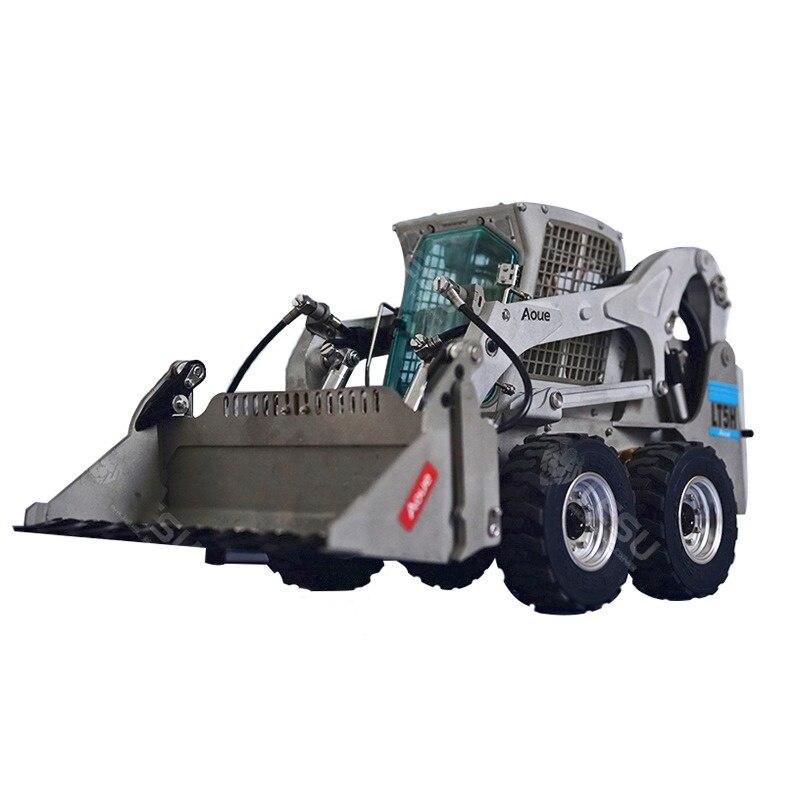 Bobcat-جرافة انزلاقية التوجيه مع 1/14 عجلة ، نموذج ، هندسة ، نموذج ، آلات هيدروليكية
