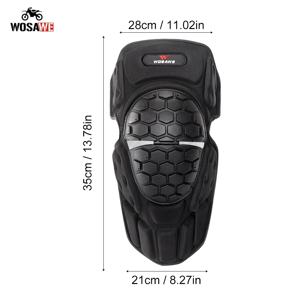 WOSAWE Motorcycle Knee Pads Motocross Riding Knee Protector kneepads Shin Protective Guard Knee Protecive Gear Sports Knee guard enlarge