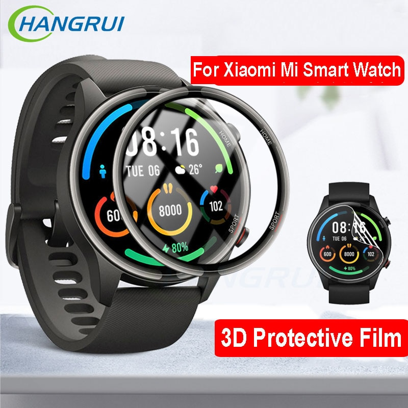 3D Protective Film For Xiaomi Mi Smart Watch Color Sports Version HD Full Screen Protector Mi Watch