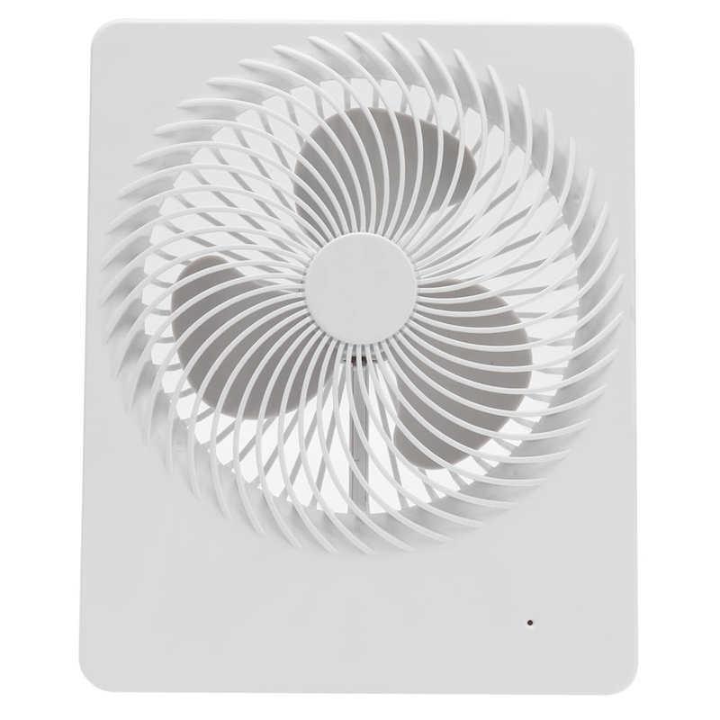 Ventilador portátil ventilador de mesa portátil mudo de carregamento usb branco pequeno ventilador para escritório em casa dormitório ventilador de teto