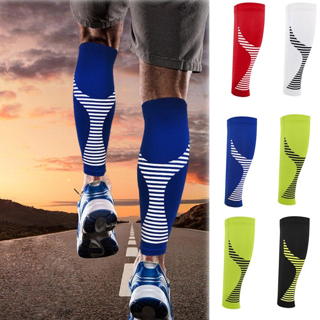 Soporte para el rendimiento de la pierna de la manga de la compresión de la pantorrilla