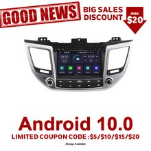 Navirider Autoradio Gps Navigation Android 9.0 Autoradio lecteur pour Hyundai Tucson Ix35 Aux Bluetooth stéréo Auto accessoires