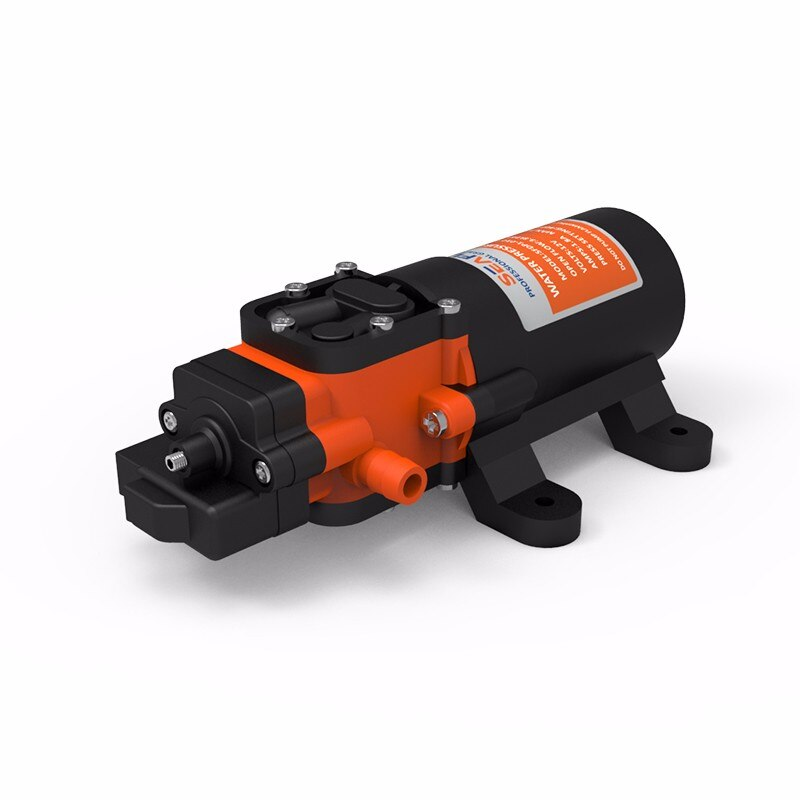 SEAFLO 2018 NEW Compact design 12V Electric Diaphragm Water Pump 35PSI 4A Max Marine RV Boats enlarge