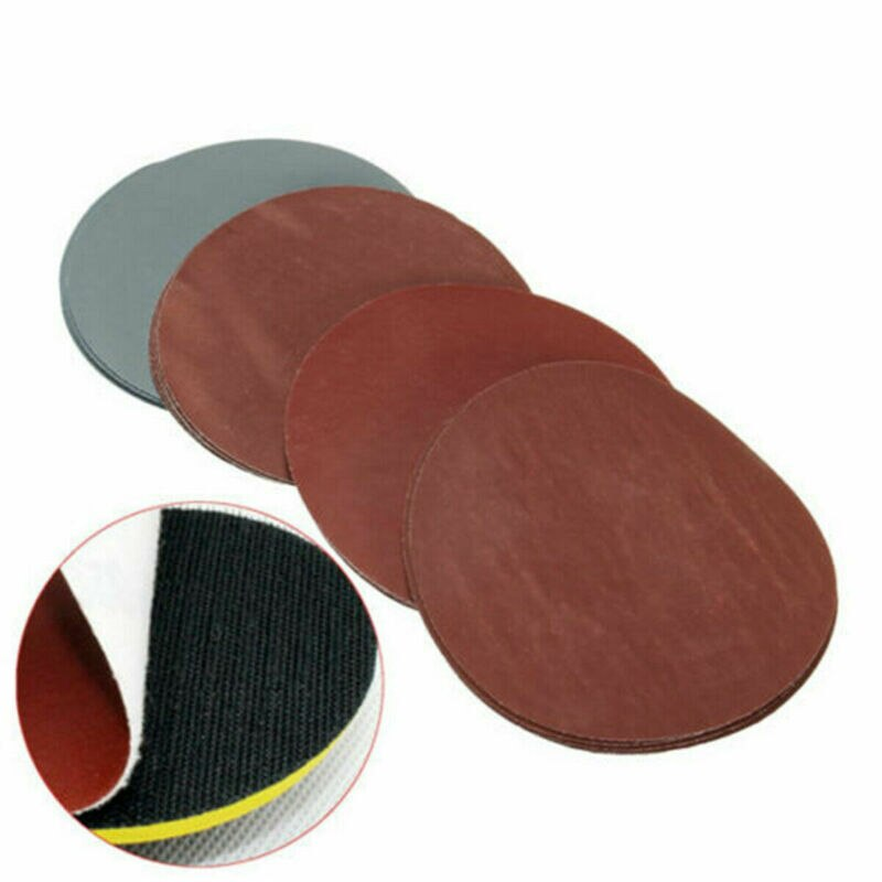 20 pces 5 polegada 125mm grit 1000 1500 2000 3000 areia polimento de papel discos lixamento