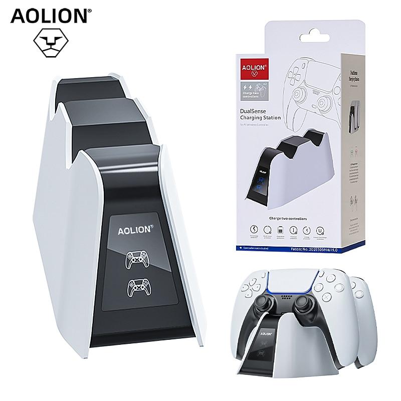 Двойное быстрое зарядное устройство для PS5 беспроводной контроллер зарядная док-станция для Sony PlayStation5 Джойстик Геймпад