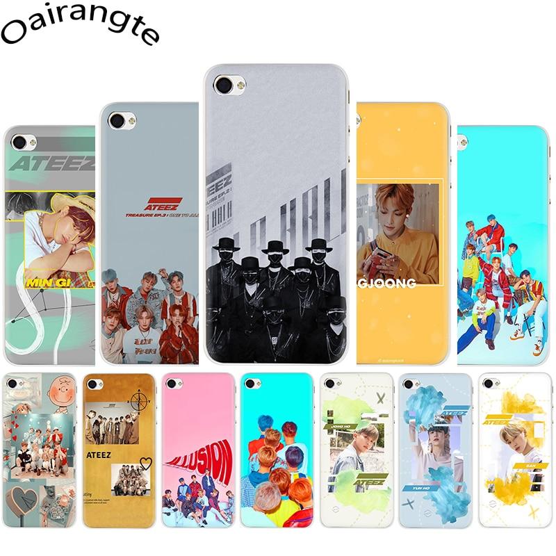ATEEZ HongJoong SeongHWA Hard phone cover case for iphone 5 5S 5C SE 2020 6 6S Plus 7 8 Plus X XR XS 11 Pro MAX