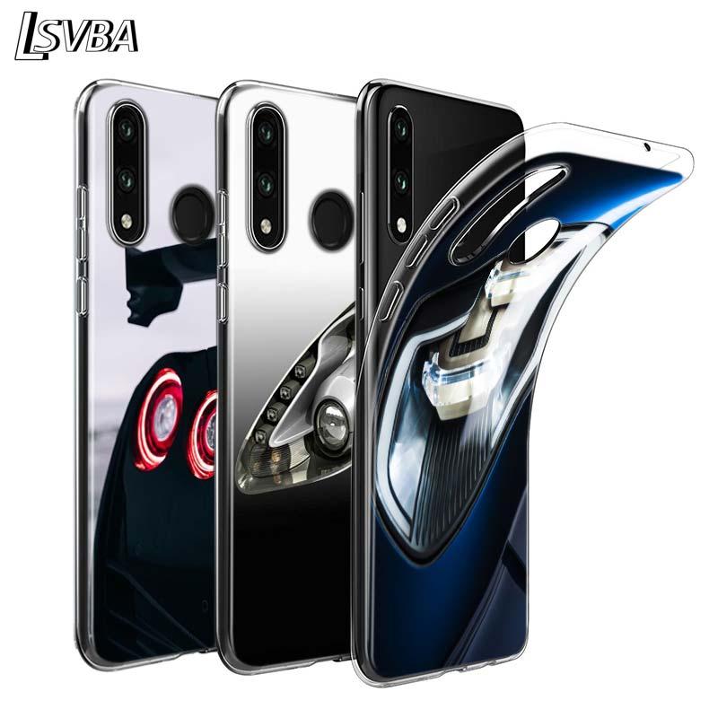 Anti-Knock cubierta deporte del coche de la lámpara para Huawei Nova 5 3 P Smart Z Plus 2019 P30 P20 Pro P10 P9 P8 Lite Plus teléfono caso