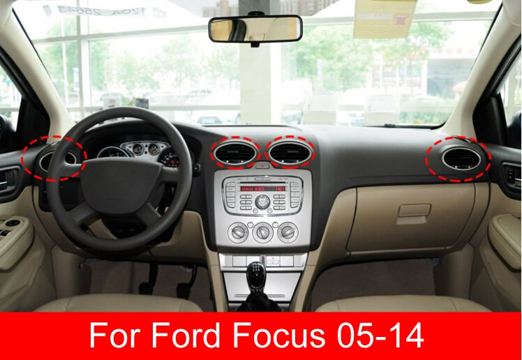 1PCS car Air Conditioning Outlet Dashboard Vent Air Nozzle FOR ford focus 2005 2006 2007 2008 2009 2010 2011 2012 2013 enlarge
