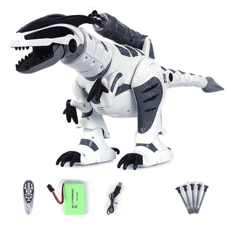 C5AF RC Robot Dinosaur Intelligent Interactive Smart Toy Remote Control Tyrannosaurus