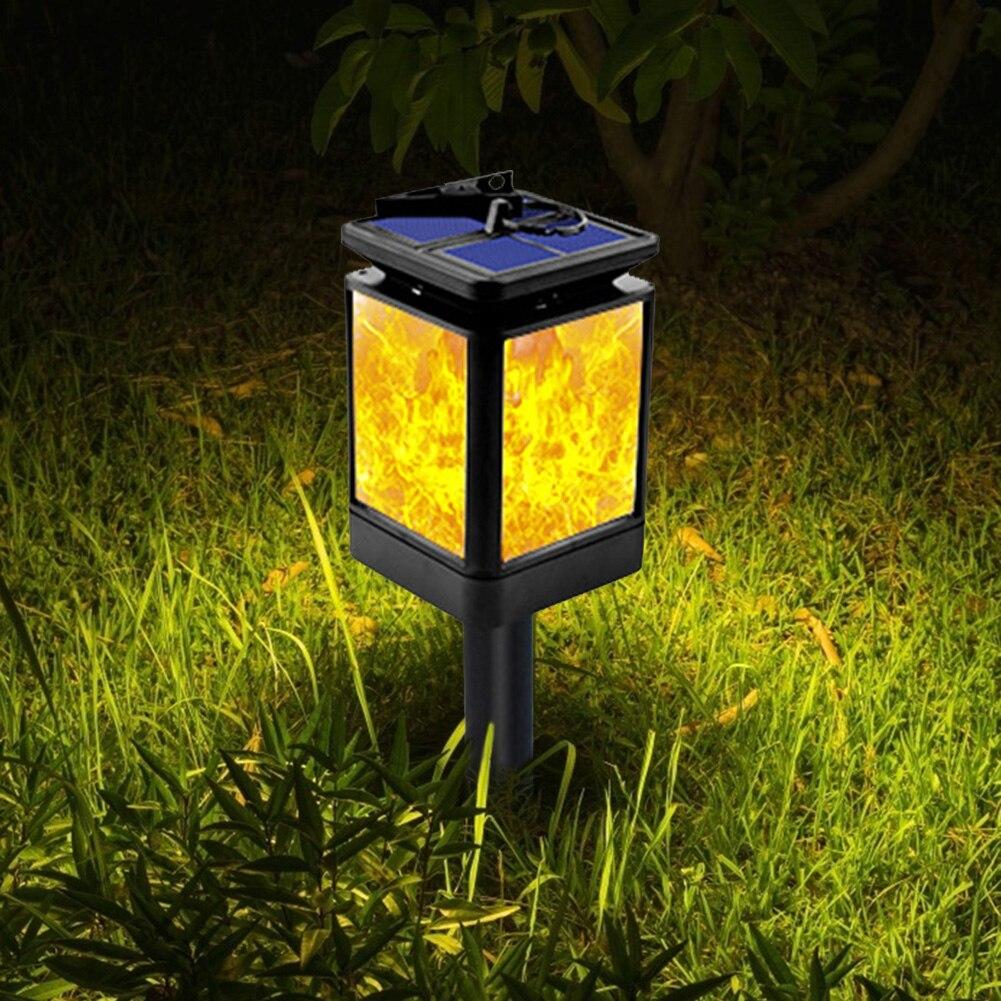 Luz Solar de jardín EU US Almacén Solar al aire libre LED pequeña casa césped lámpara patio jardín decoración lámpara Solar al aire libre