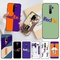 hpchcjhm fedex freight coque shell phone case for redmi note 9 8 8t 8a 7 6 6a go pro max redmi 9 k20