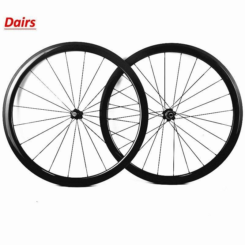 Frete grátis 700c estrada rodas de carbono 38/50/60/88mm clincher 23mm largura novatec a271sb a372sb cubos rodas bicicleta