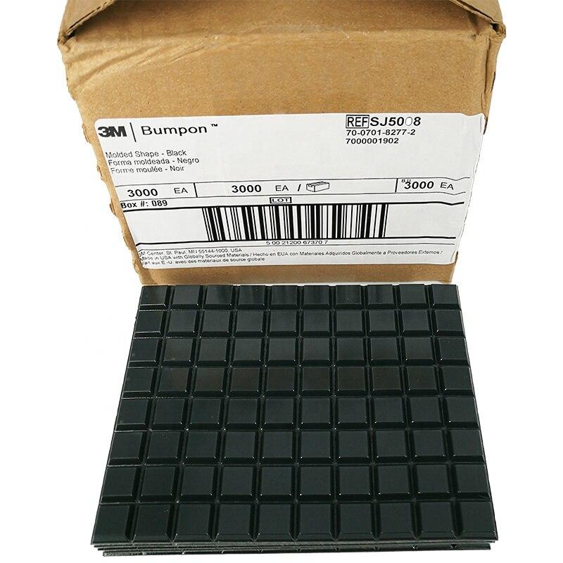 3M Bumpon المنتجات الواقية SJ5008 3000 قطعة/صندوق